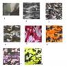 Sarouel masque à gaz noir et camouflage n° 4