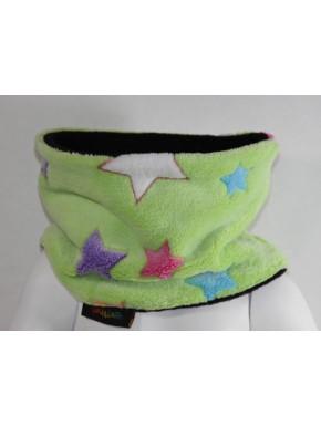 Snood enfant polaire étoiles multicolores 3 tailles 2/3 ans, 4/6 ans et 8/12 ans