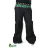Pantalon noir ceinture ethnique