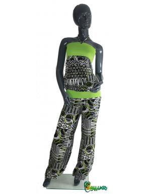 Combinaison pantalon personnalisable Spatch kiwi