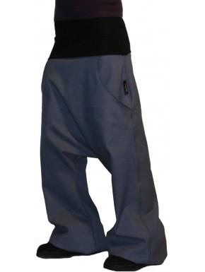 Sarouel en jean à poche mixte personnalisable