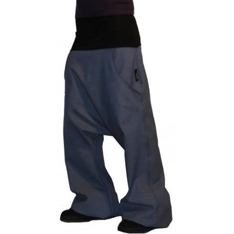 Sarouel en jean à poche mixte
