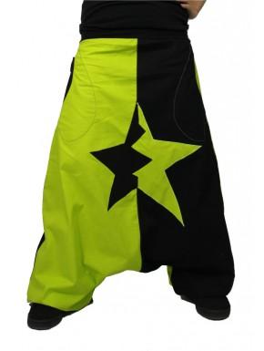Sarouel étoile bi-colore personnalisable