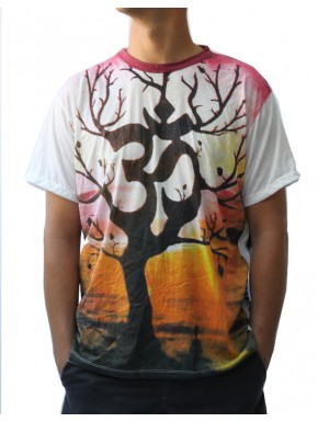 Tee Shirt mixte ohm arbre