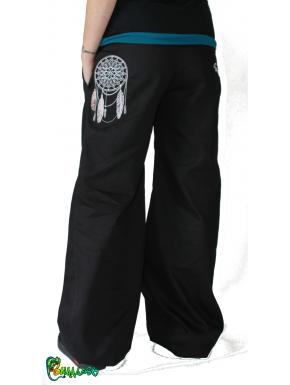 Pantalon large broderie dremcatcher