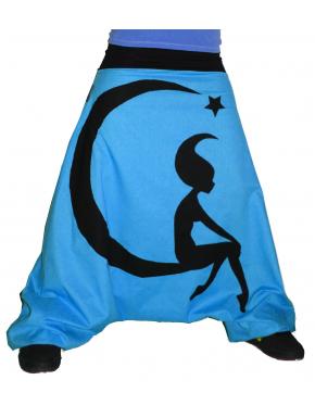 Sarouel fée lune étoile personnalisable