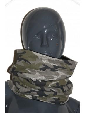 Snood camouflage  unisexe