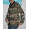 Veste camouflage et fire head orange taille L