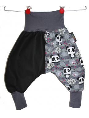 Sarouel bébé évolutif panda 3 mois à 24 mois et 3/6 ans