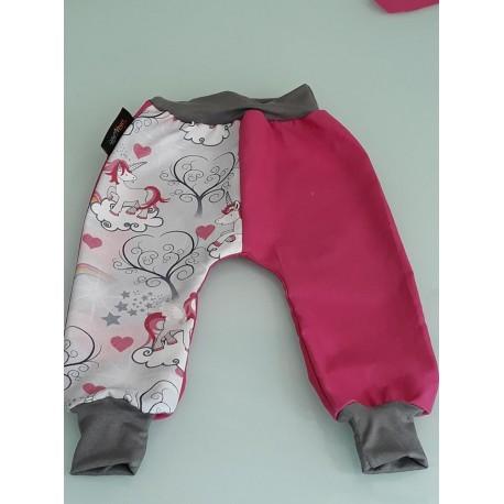 Baggy pant sarouel licorne rose