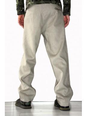 Pantalon homme  large en LIN  couleurs aux choix