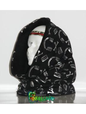 Écharpe tube casque