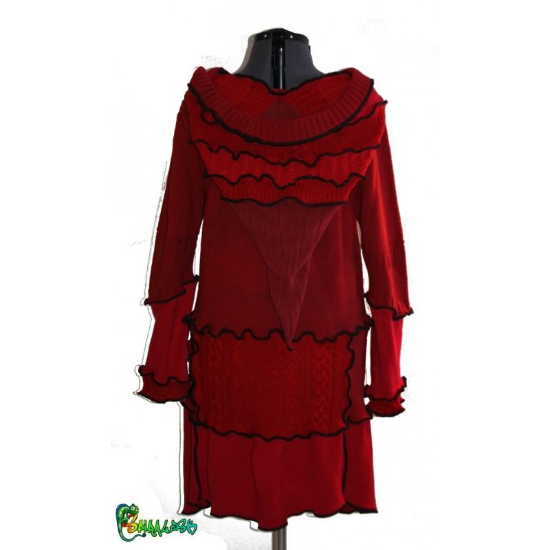 Veste rouge taille 48