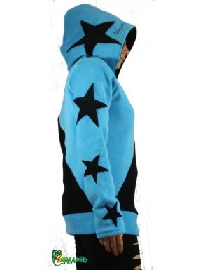 Pull étoiles bicolore personnalisable