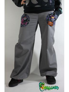 Pantalon large poches cheshire personnalisable