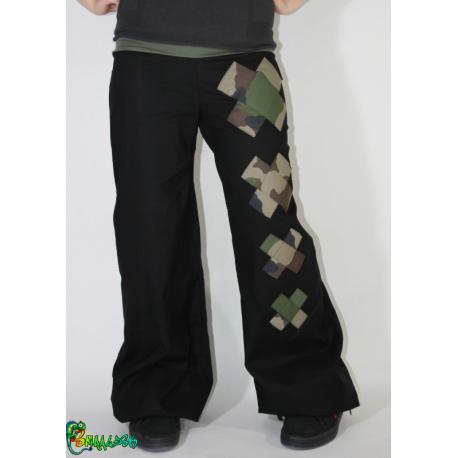 Pantalon large croix personnalisable