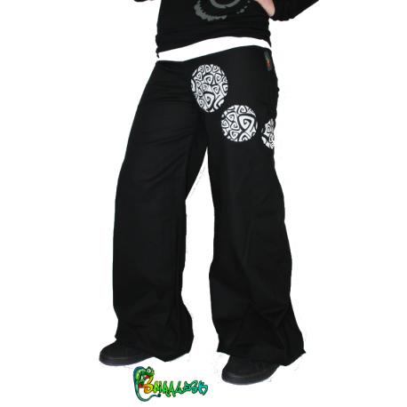 molto carino 453a9 0d2d0 Ampi pantaloni di lino color kaki