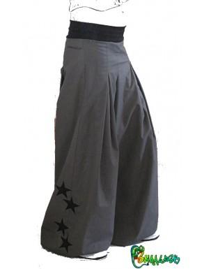 Pantalon large étoiles