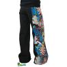 Pantalon large bande tête de mort