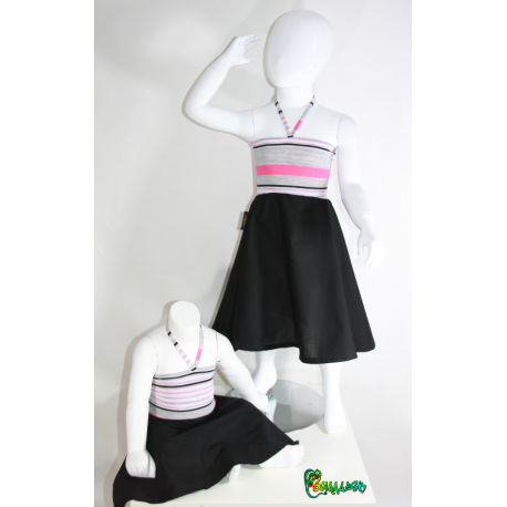 Robe rayures 2 ans