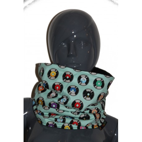 Snood cercle multicolore  unisexe