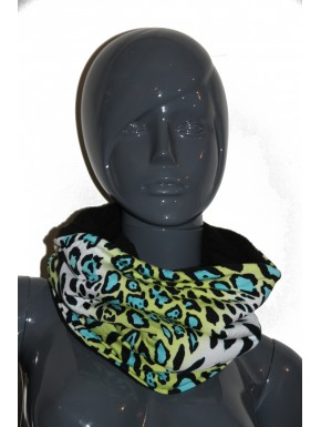 Snood papillons libellule