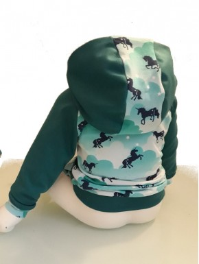 Sweat ti Mouss unicorn du 18 mois au 4 ans