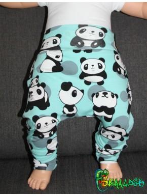 Baggy pant sarouel panda menthe gris noir et blanc de 0 à 6 ans