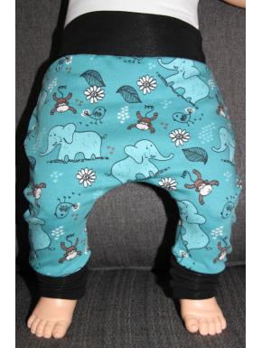 Baggy pant sarouel éléphant de 0 à 6 ans
