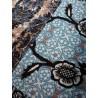 Sarouel court taille unique patch bleu taupe