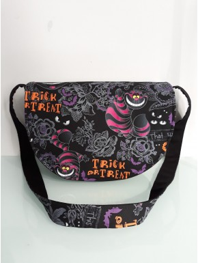 Sac besace cheshire  taille S forme scorpion